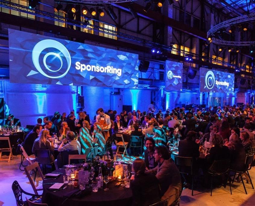 Sponsorringen Gala evenement verzorgd door Smile Licht En Geluid Utrecht.