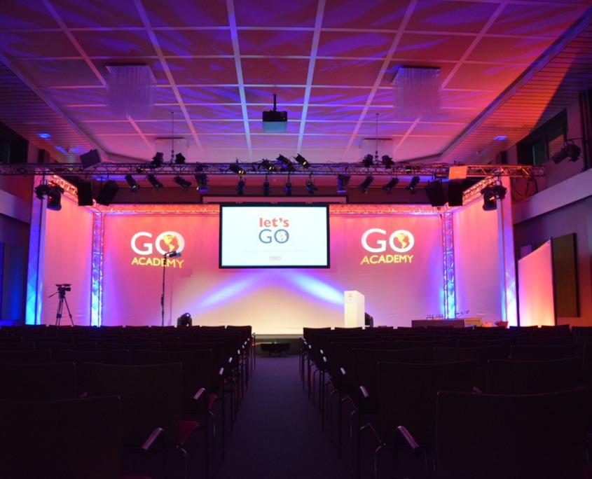 TNT Go Academy evenement verzorgd door Smile Licht En Geluid Utrecht.