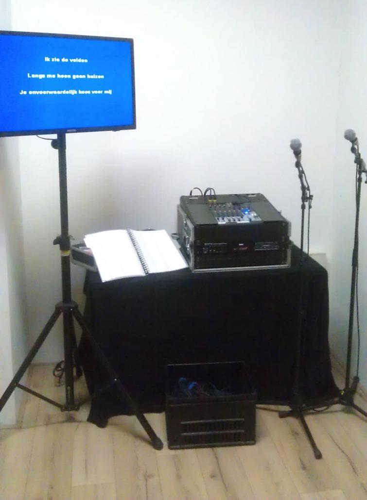 Karaoke set huren bij Smile Licht En Geluid Utrecht.