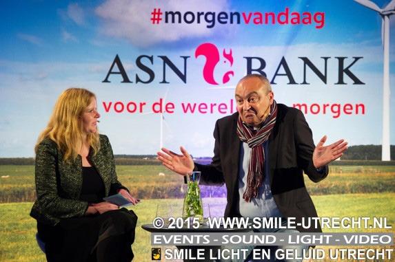 ASN Bank - Morgen Vandaag - klantendag Westergasfabriek Transformatorhuis.