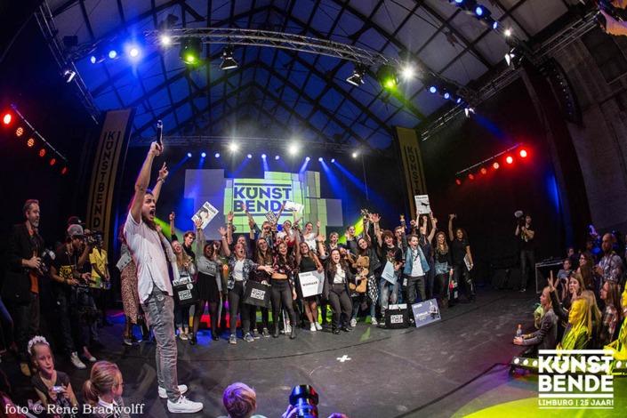 Smile Licht En Geluid Utrecht evenementen Finale Kunstbende 2015 Westergasfabriek.