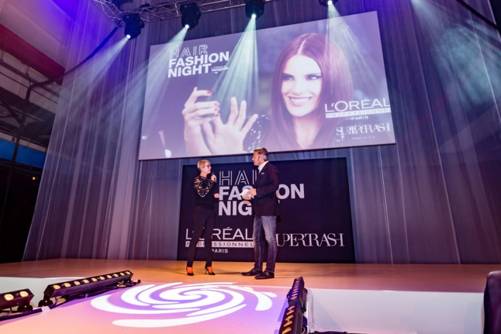 L'Oréal Hair Fashion Night modeshow in de Kromhouthal.