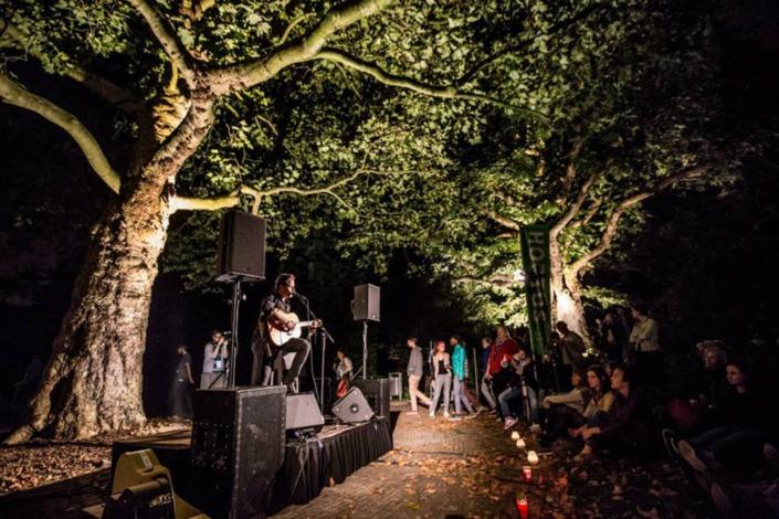Smile Licht En Geluid Utrecht evenementen Nacht van Kunst en Kennis in Leiden.