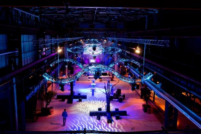 Zakelijk arrangement - verhuur van licht, video en geluid tijdens SAIL Amsterdam.