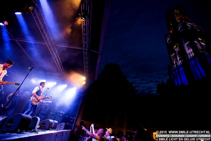 """Smile heeft tijdens dit feestelijke evenemenent op meerdere pleinen in Utrecht het licht en geluid verzorgd. Er was ook een officieel muziekprogramma """"Tournée de la Musique"""" waar wij het licht hebben verzorgd."""